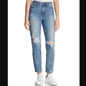 Joe's Jean | The Kass High Rise Ripped Jeans
